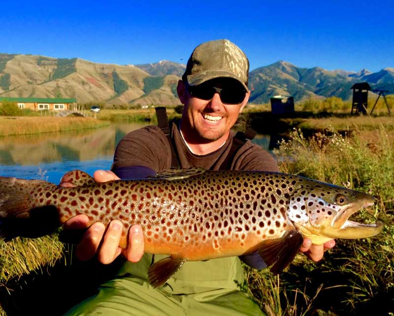 Spring creek wyoming fly fishing feathered hook of for Fishing license wyoming